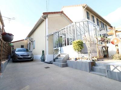 Maison Traditionnelle individuelle plain-pied - PONTOISE - 75 m2 - VENDU
